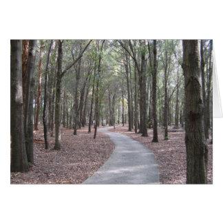 Walkway at Sholom Park  Card