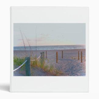 walkway florida beach dune sunrise binders