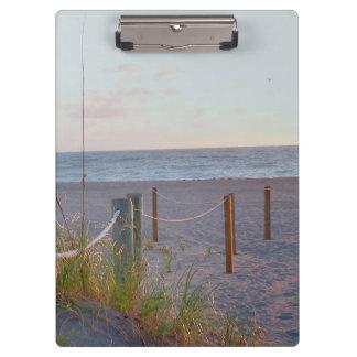 walkway florida beach dune sunrise clipboards