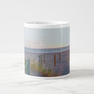 walkway florida beach dune sunrise giant coffee mug