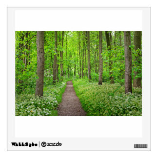 Walkway In Stochemhoeve Forest Park In The Netherl Wall Sticker
