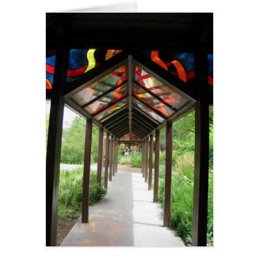 Walkway Stationery Note Card