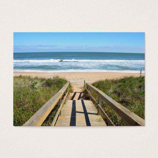 Walkway to the Beach Business Card