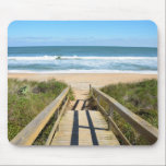 """Walkway to the Beach Mouse Pad<br><div class=""""desc"""">Boardwalk to the beach at St. Augustine,  Florida,  USA.</div>"""
