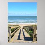 Walkway to the beach print