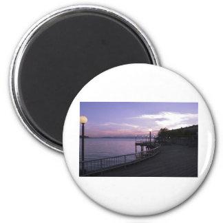 WalkwayPier051709 2 Inch Round Magnet
