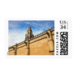 Wall and Tower of the Mezquita in Cordoba Postage