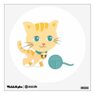 Wall Art - ABC Animals - Cat Wall Sticker