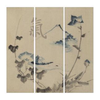 Wall Art Eighteenth Century Japanese Triptych