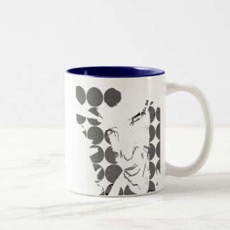 Wall Art Two-Tone Coffee Mug