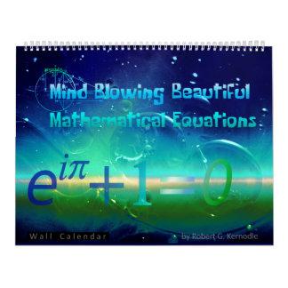Wall Calendar Beautiful Math Equations