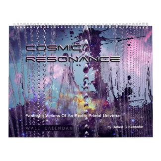 Wall Calendar Cosmic Resonance Exotic Cosmos
