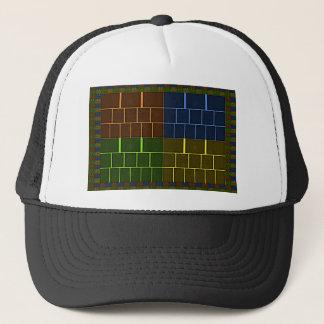 Wall canvas trucker hat