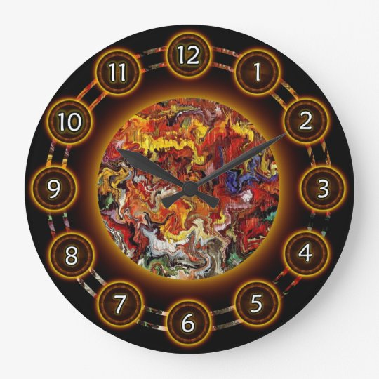 Wall Clock 09 by Rafi Talby - Painter
