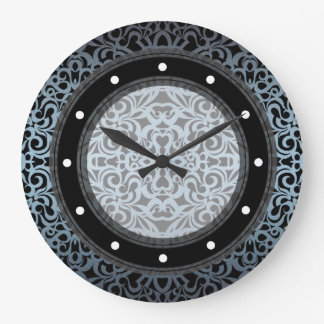 Wall Clock Baroque Style Inspiration