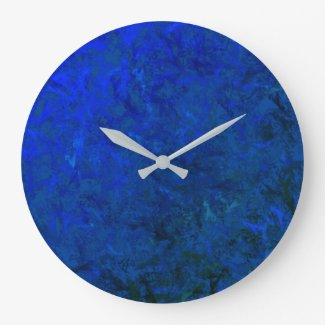 Wall Clock Blue Moon