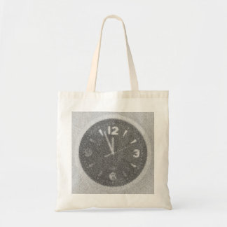 Wall Clock Canvas Sketch on Bag
