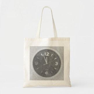 Wall Clock Canvas Sketch on Bag