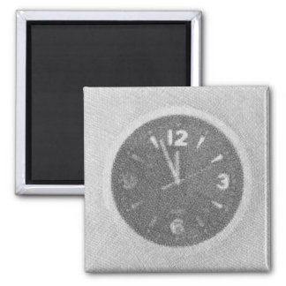 Wall Clock Canvas Sketch on Magnet