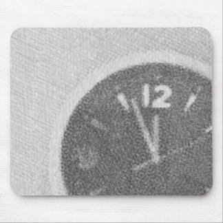 Wall Clock Canvas Sketch on Mousepad