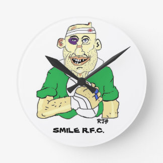 Wall Clock - Customized rugby