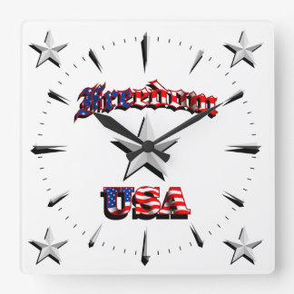 Wall clock Freedom 1