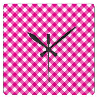 Wall Clock  Pattern picnic tablecloth