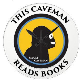 Wall Clock Read Smart Caveman