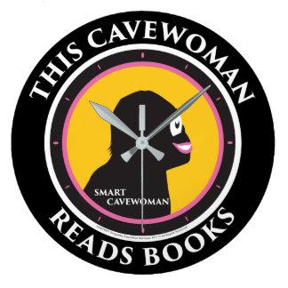 Wall Clock Read Smart Cavewoman