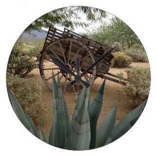 Wall Clock Rustic Arizona