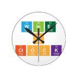 Wine o clock  Wall Clocks