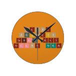 Happy  Periodic  Table Day Fellow Nerds  Wall Clocks