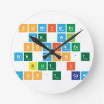 SOMTIMES, WE WIN SOMTIMES  WE DON'T BUT I  DON'T CARE  Wall Clocks