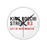 king Rocchi Street  Wall Clocks
