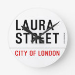Laura Street  Wall Clocks