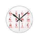 Cauline  Angela Alviz  Wall Clocks