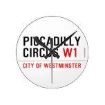 piccadilly circus  Wall Clocks