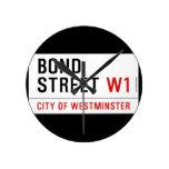 Bond Street  Wall Clocks