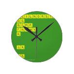 AEILNORSTU DG BCMP FHVWY K   JX  QZ  Wall Clocks
