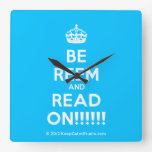 [Crown] be reem and read on!!!!!!  Wall Clocks