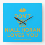 [Two hearts] don't cry coz niall horan loves you  Wall Clocks