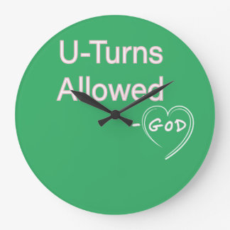 Wall Clocks unique Christian Humor - God