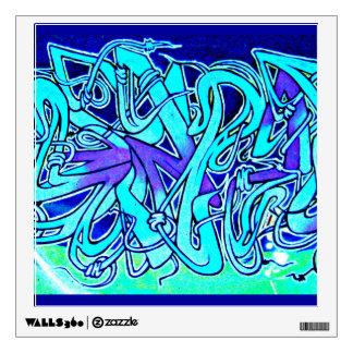 Wall Decal-Abstract Art-Graffiti Gallery 5 Wall Decal