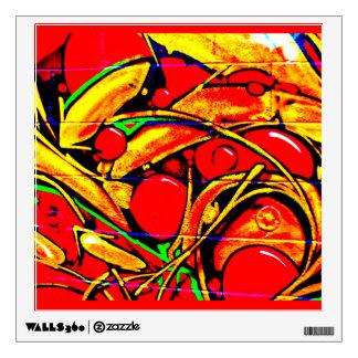 Wall Decal-Abstract Art-Graffiti Gallery 6 Wall Decal