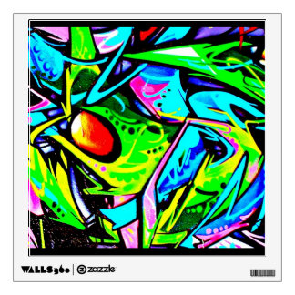 Wall Decal-Abstract Art-Graffiti Gallery 7 Wall Sticker