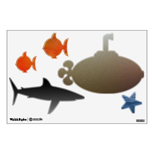 Wall Decal--Aquatic Life Wall Sticker