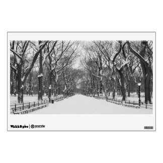 Wall Decal - Central Park in Winter, New York City