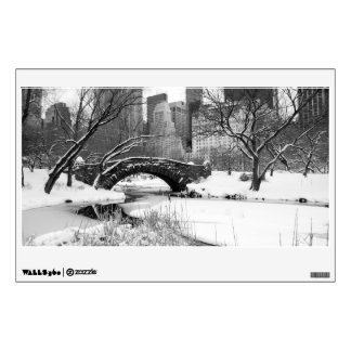 Wall Decal - Central Park Winter, New York City