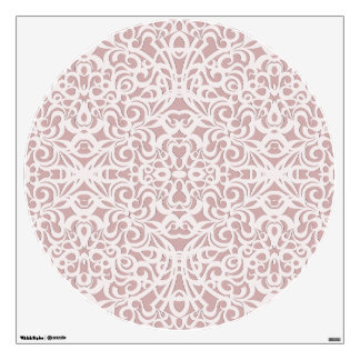 Wall Decal Floral abstract background