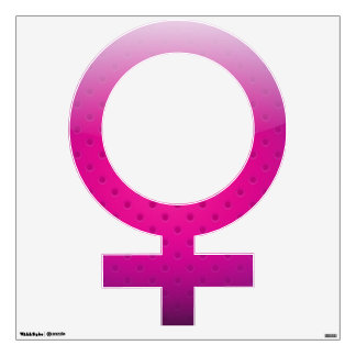 Wall Decal gender woman symbol